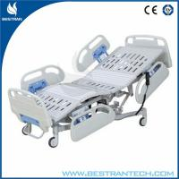 China ABS Handrails Five Function Electric Medical Hospital Beds ,Hospital Style Beds on sale