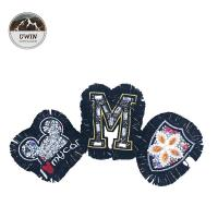 Quality Personalized Custom Embroidered Back Patches / Colorful Custom Cloth Patches for sale