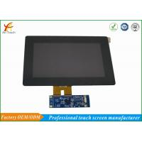 China Scratch Resistant LCD CTP Touch Screen Overlay Kit 800x480 Landscape on sale