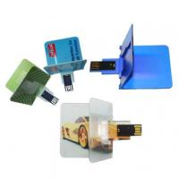 Quality Credit card shape USB Flash Disks for sale