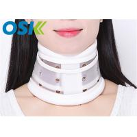 Quality Plastic Neck Injury Collar , Cervical Neck Brace Long - Term Usage CE Approved for sale