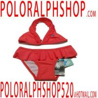 Quality polo shirts Children Polo Swimwears Red for sale