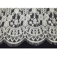 """Buy cheap Double Scalloped Eyelash Antique Lace Trim With 60"""" Width Elizabethan Revival from wholesalers"""