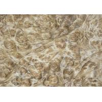 Buy cheap 0.5 mm Mappa Burl Wood Veneer , Nardwood Thin Wood Veneer Sheets product