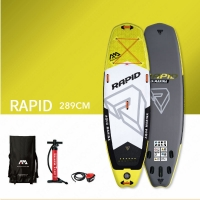 Quality Yellow 18 PSI 289*84*15cm Racing Stand Up Paddle Board for sale