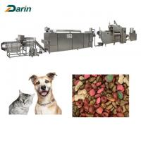 Quality DARIN Floating Fish Feed Dog Pet Food Processing Machinery English Manual for sale