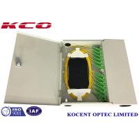 Quality Double Doors KCO-WTB-24A Wall-mountable Fiber Optic Terminal Box 24ports With SC/APC Pigtail for sale