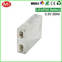3.2v 20ah Grade A Prismatic Battery Cell / Lifepo4 Prismatic Battery High Capacity