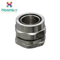 China Explosion Proof BW Series Nickel Plated Brass Armored Cable Gland on sale
