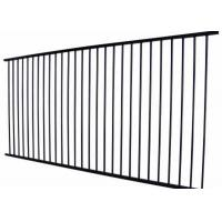Quality Metal Wrought Iron Zinc Steel Fence Panels 2100 X 2400MM 60*60*1.5 mm for sale