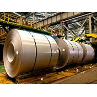 Quality 300 Series / 201 Hot Rolled Stainless Steel Coil No.1 Finish Black Band Surface for sale