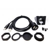 Buy cheap Date Transfer Car Audio Cable USB Flush Mount Aux Input Custom Length from wholesalers