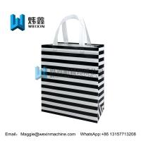 China Promotional Foldable Reusable Laminated Non Woven Bag 100gsm on sale