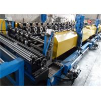 Ribbed Steel Cable Tray Roll Forming Machine 10-20m/min Product Speed Cr12 Roller for sale