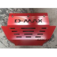 Quality Red 4x4 Skid Plate For Isuzu Dmax 2012+ OE Style Car Engine Protector Cover for sale