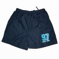 Quality Jogging Short Pants, Made of Polyester and Spandex Material for sale