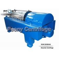 PLC Control Water Sludge Decanter Centrifuge Continuous Centrifuge With SKF Bearing for sale
