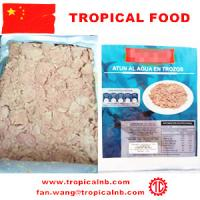 Buy Canned tuna chunks in pouch packing at wholesale prices