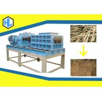 Single / Twin Shaft Hospital Waste Shredder Low Speed Customized Blade Material