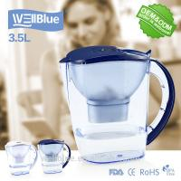 China Plastic Drinking Alkaline Water Filter Pitcher BPA Free 3.5L With High PH on sale