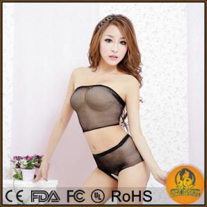 China Sexy lingerie women sexy transparent Crop cute bra on sale