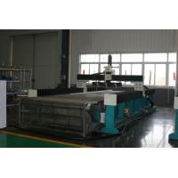 Quality 8000*3000mm bridge type  pure waterjet cutting machine with 420Mpa pump with three pure water cutting head for sale