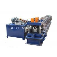 Quality Manual Adjustable 3mm Thickness C Purlin Roll Forming Making Machine for sale