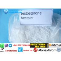 Buy cheap High quality Testosterone acetate powder Testosterone for bodybuilding steroid CAS: 1045-69-8 product