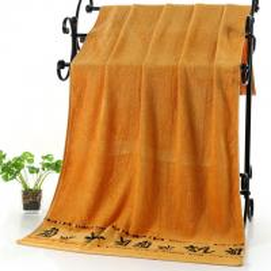 Quality Bamboo Fiber Bath Towel 70x140cm Super Soft Absorbent Bamboo Beach Towel for sale