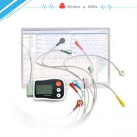 Quality Medical Mini 12 / 3 Channel 24h Holter Electro Cardio Graph ECG Dinamico Holter for sale