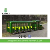 China 42 Seats Electric Trackless Train , Electric Tourist Train For Outside Recreation on sale