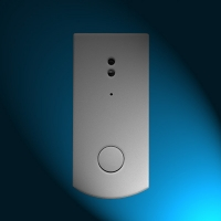 Quality Wireless Doorbell Button with 3.7V rechargeableLithium battery for sale