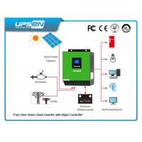 Buy cheap 24vdc To 220vac off Grid Solar Power Inverter with Numerous protection functions product