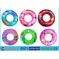 Quality Customsied Size Inflatable Swim Ring EN71 Certificated Inner Tube Ring for sale