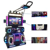 China VR Glass Virtual Reality Dance Game Machine With Double Function HTC Vive on sale
