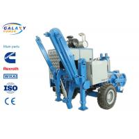 Quality 2.5km/H Electrical Cable Pulling Equipment , 4800kg Hydraulic Cable Puller for sale