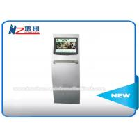 Quality Touch Screen Ticket Vending Kiosk For Movie / Gymnasium / Theater Scanning 2D Barcode for sale