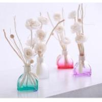Buy Elegant Bule/Violet/Pink Perfume Bottle for Aroma Diffuser Incense with Rattan Stick (LDF788) at wholesale prices