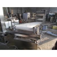 China Settling Tank And Packer Of Peanut Butter Production Line With 0.74KW Peeling Machine on sale