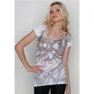 Quality Wholesale ED Hardy Women Tee,ED hardy t-shirts,brand t-shirts 18$/pcs for sale
