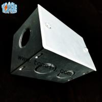 Quality BS4568 Steel GI Electrical Boxes And Covers For Metal Outlet Devices for sale