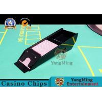 China Waterproof Casino Card Shoe , Eight Deck Acrylic Playing Cards Dispenser Case on sale