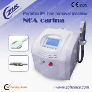 China Professional Ipl Skin Rejuvenation Machine / Hair Shaving Machine , Protable on sale