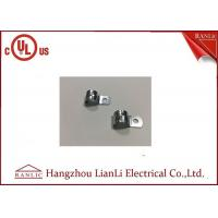 Quality 3/8 Steel EMT Conduit Fittings Two Hole with Electro Galvanized Finish for sale