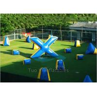 Quality Durable PVC Inflatable Paintball Bunkers/ Airsoft Bunkers Combination for sale