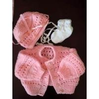 Quality Cute fashionable design handmade knitted baby clothes for Summer for sale