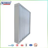 Buy HVAC Pleated Panel Synthetic Fiber Air Filter Pre Filter For Ventilation System at wholesale prices