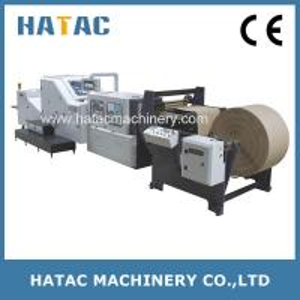 China Single-layer Square Paper Bag Making Machine,Shopping Bag Making Machine,Paper Bag Making Machinery on sale