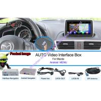 Quality Mazda Car GPS Navigation System Support Live Navigation / Voice Navigaiton for sale