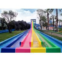 Quality Adult Extremely Stimulated Fiberglass Water Slide / Indoor Park Equipment for sale